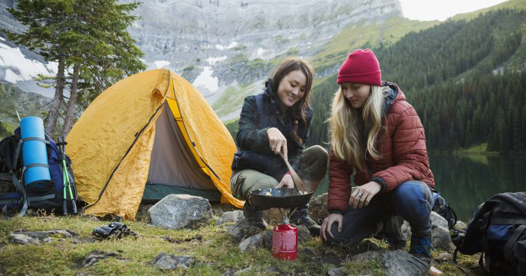 Her Outdoors // Women camping